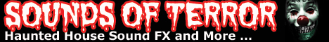SOUNDS OF TERROR ... The BEST place on the internet to get all of your HALLOWEEN Sound FX!